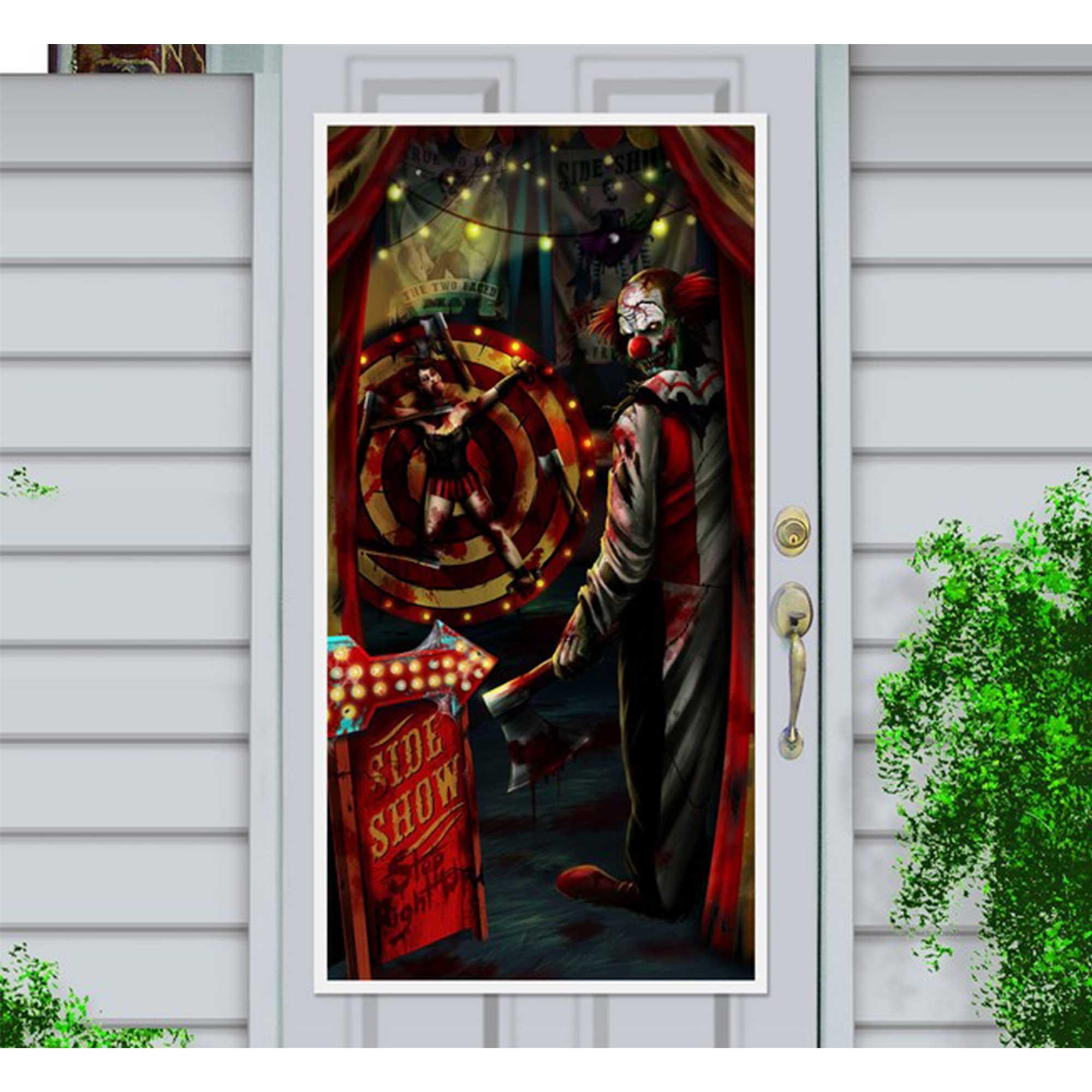 Side Show Door Decorations Plastic