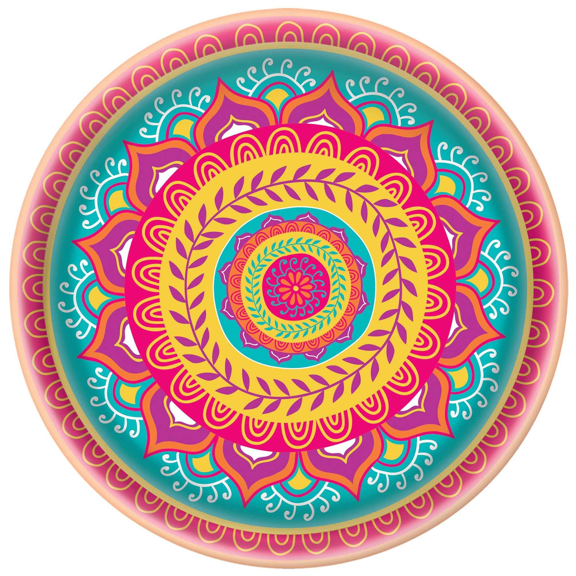 Diwali Melamine Platter 34cm