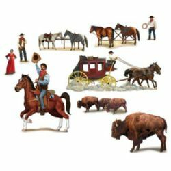 Western Wild West Wall Decorations Insta-Theme Props