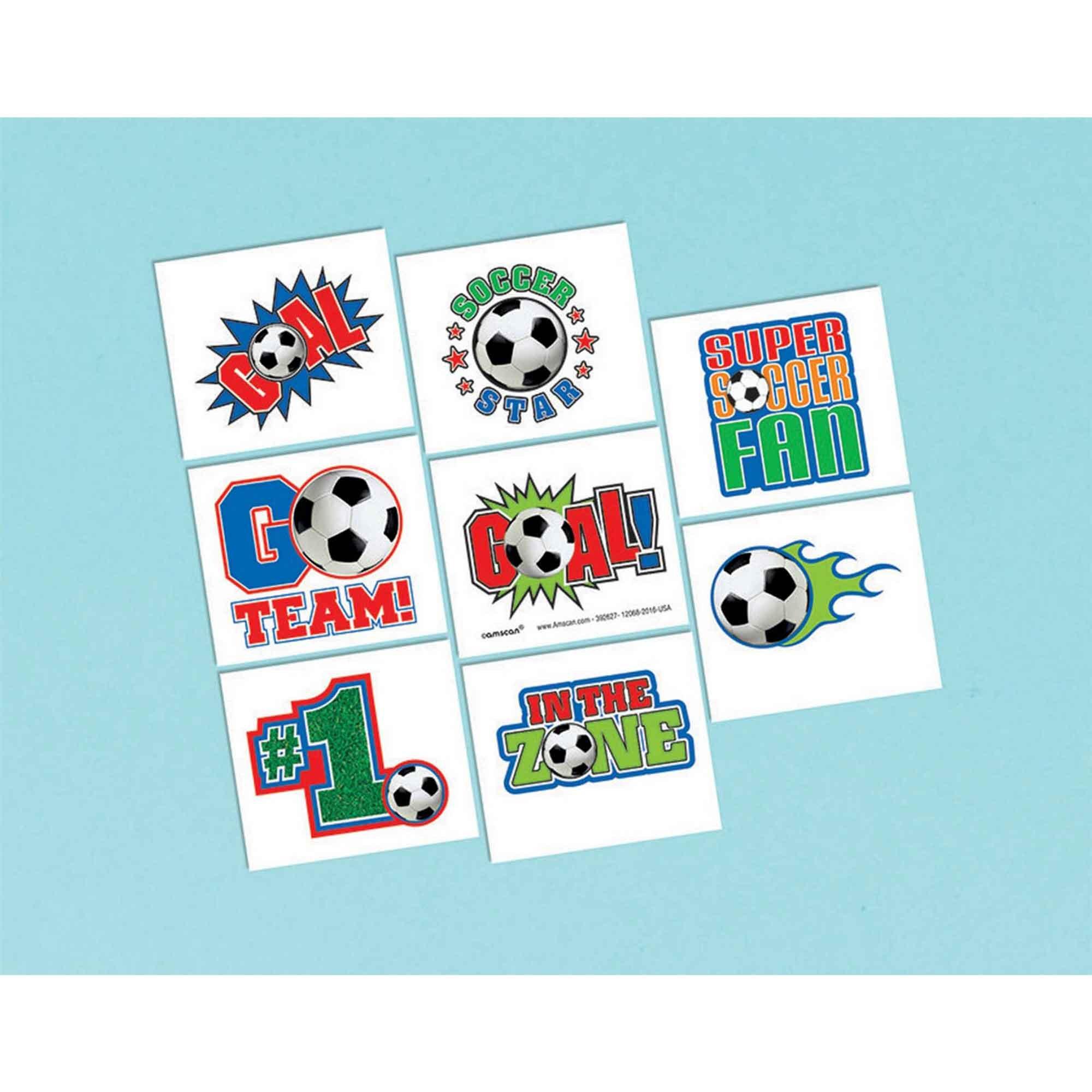 Soccer Tattoo Favor