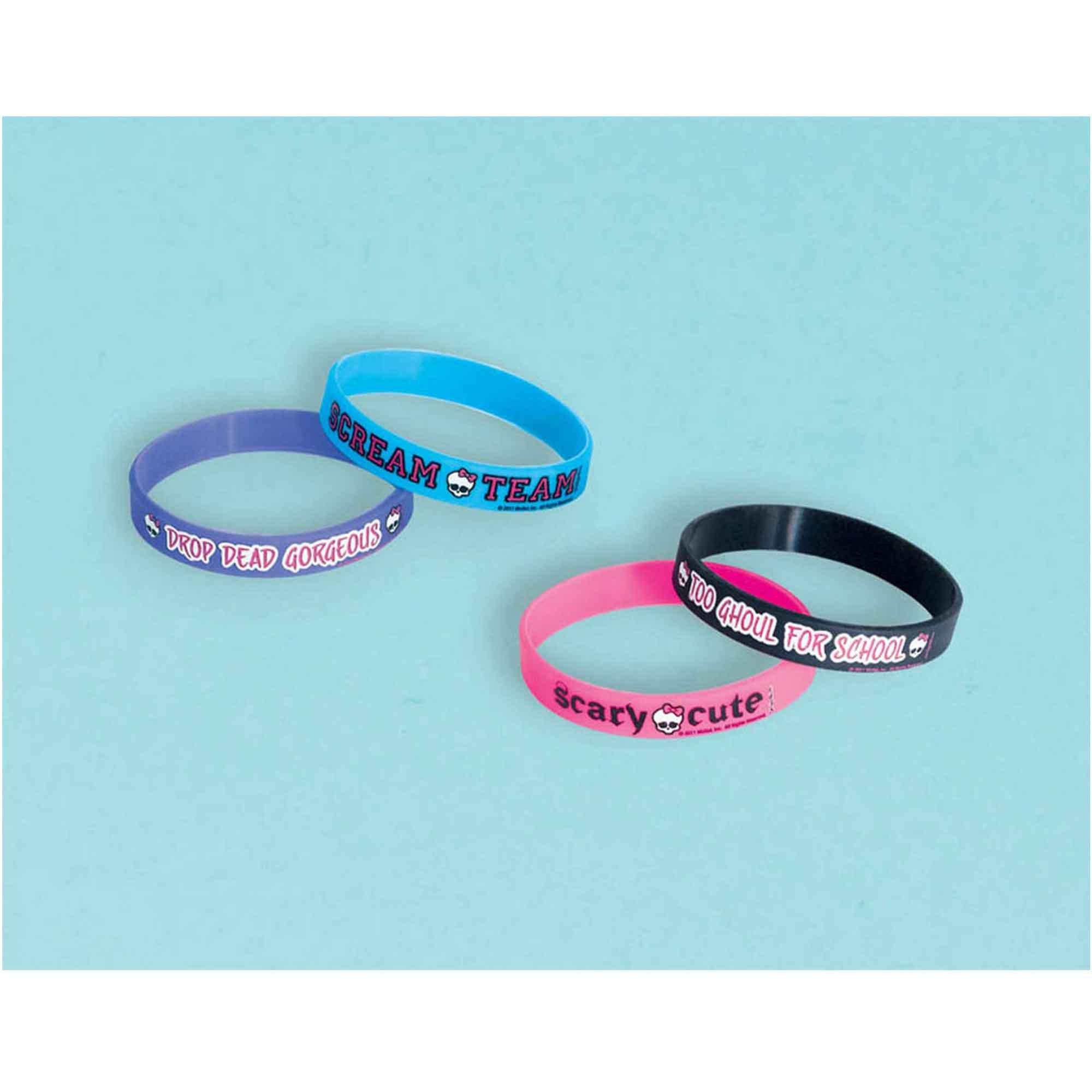 Monster High Rubber Bracelet Favor