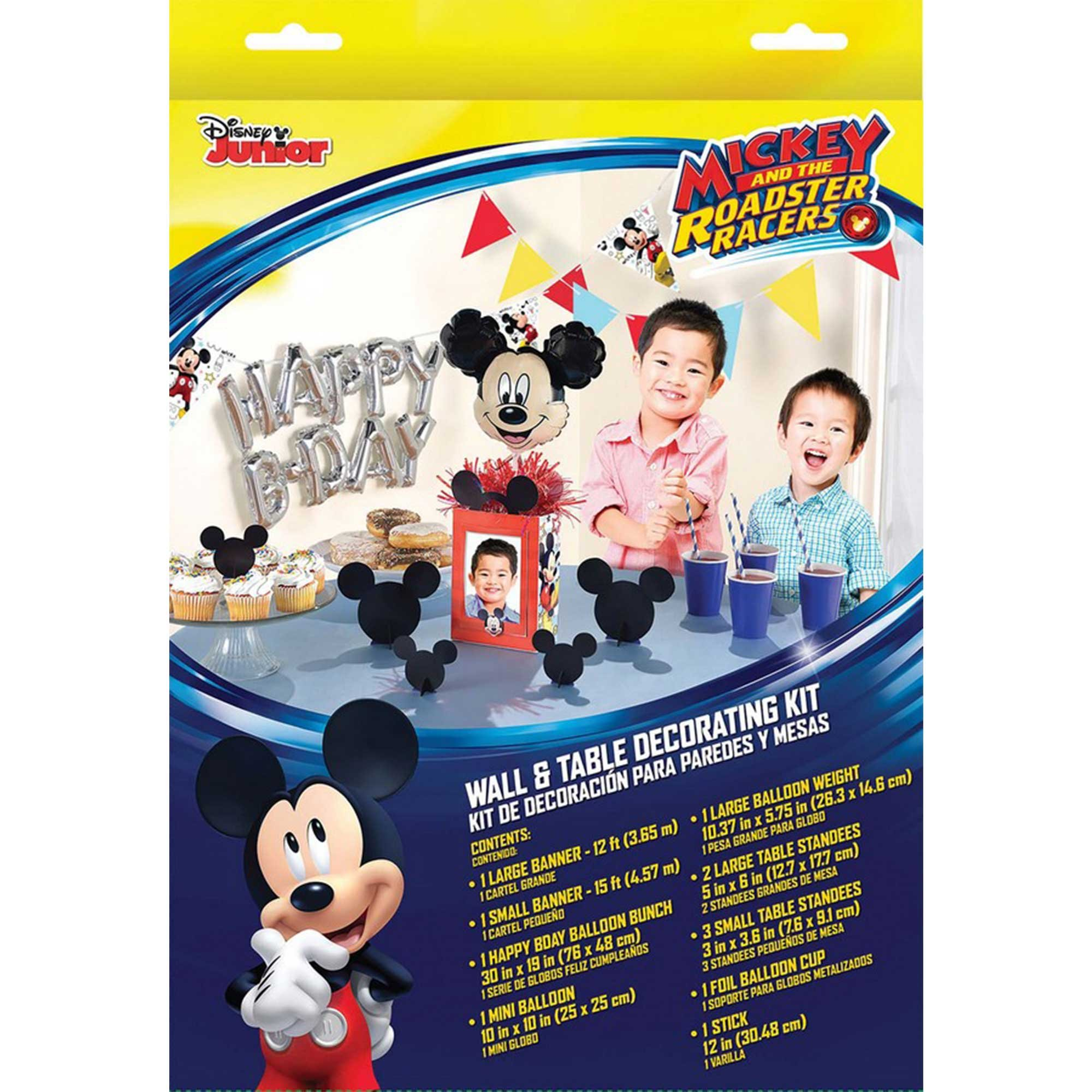 Mickey on the Go Wall & Table Decorations Kit