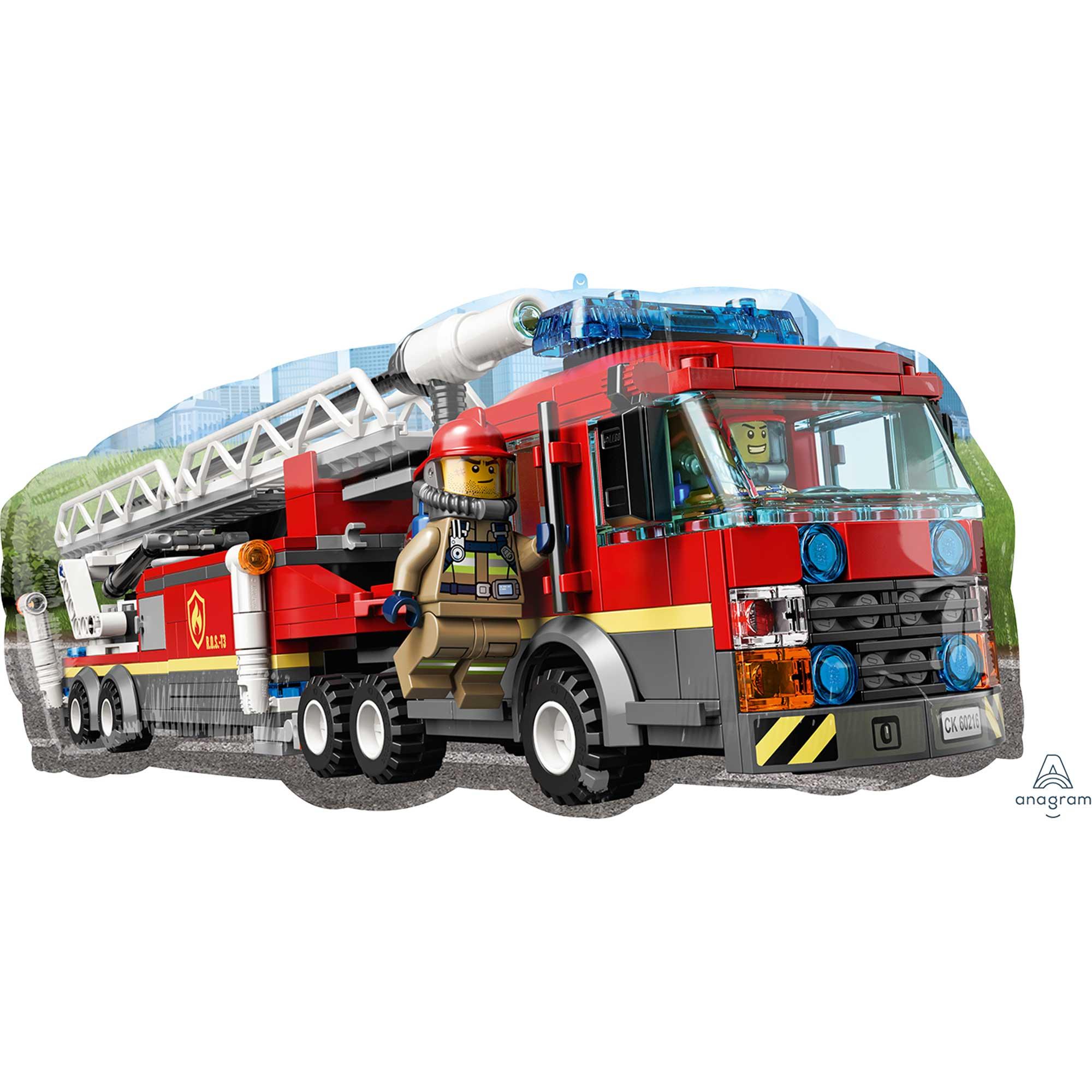 SuperShape Lego City Fire Truck P38