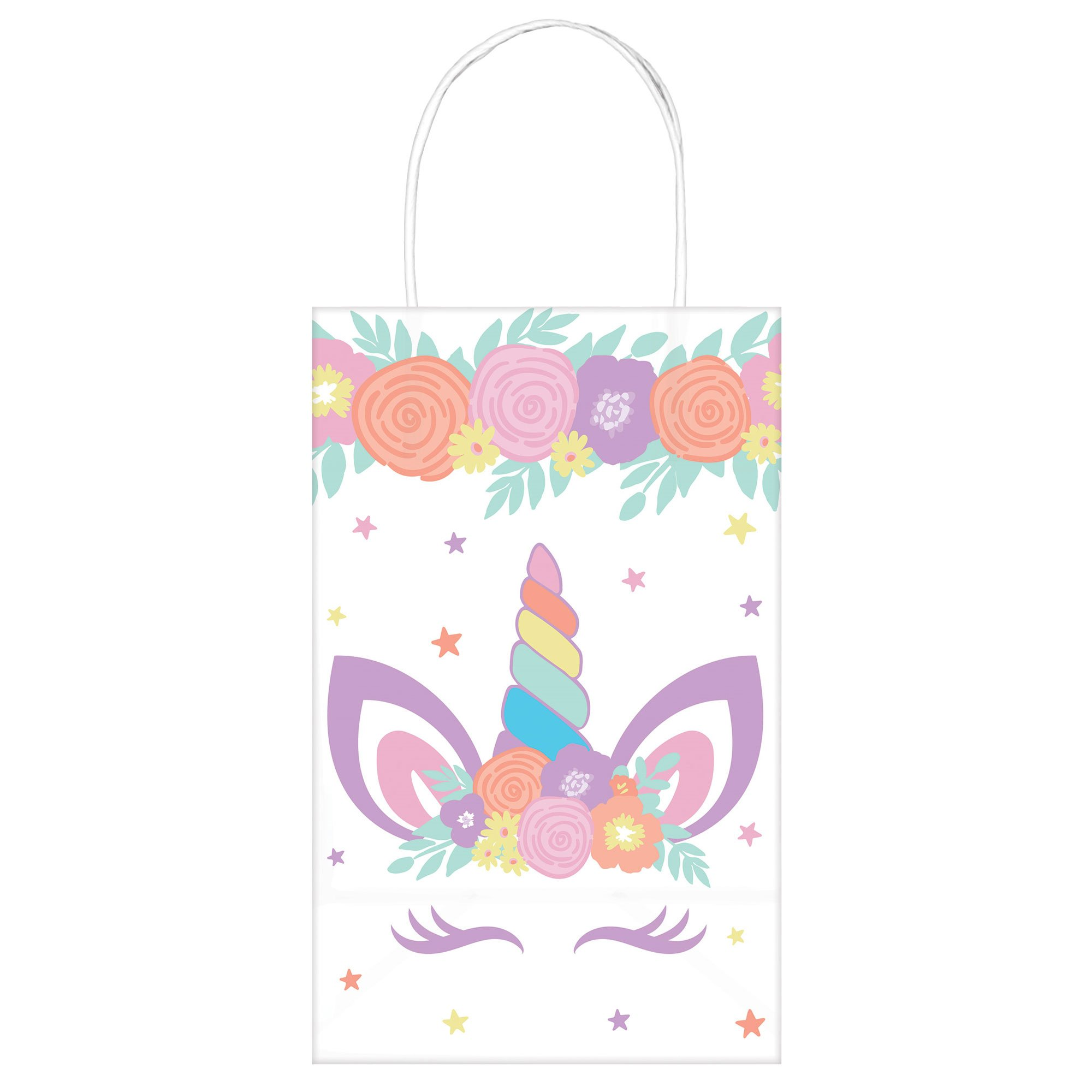 Unicorn Party Paper Kraft Bags