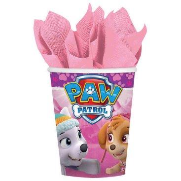 Paw Patrol Girl 266ml Cups