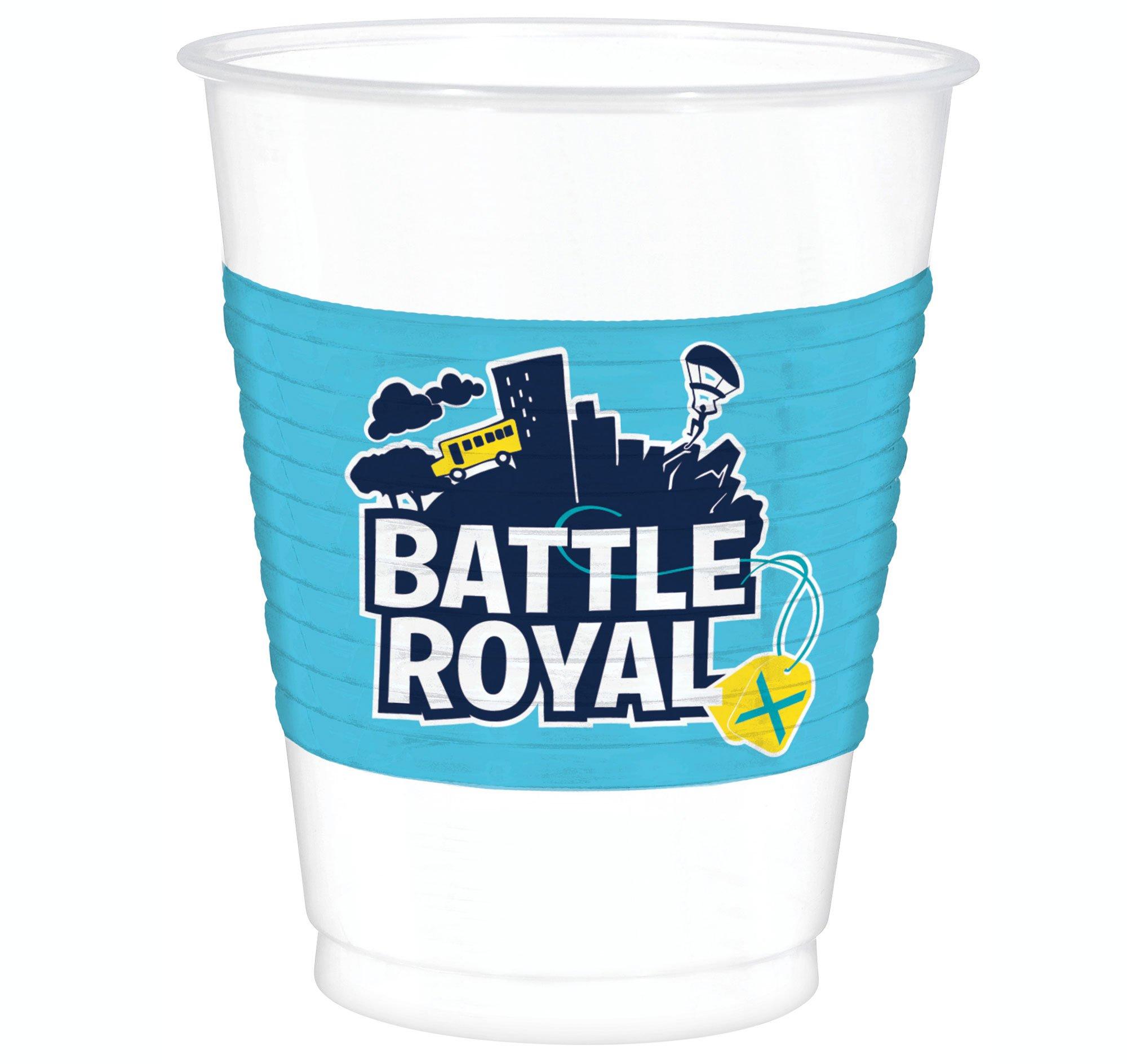 Battle Royal Plastic Cups 473ml