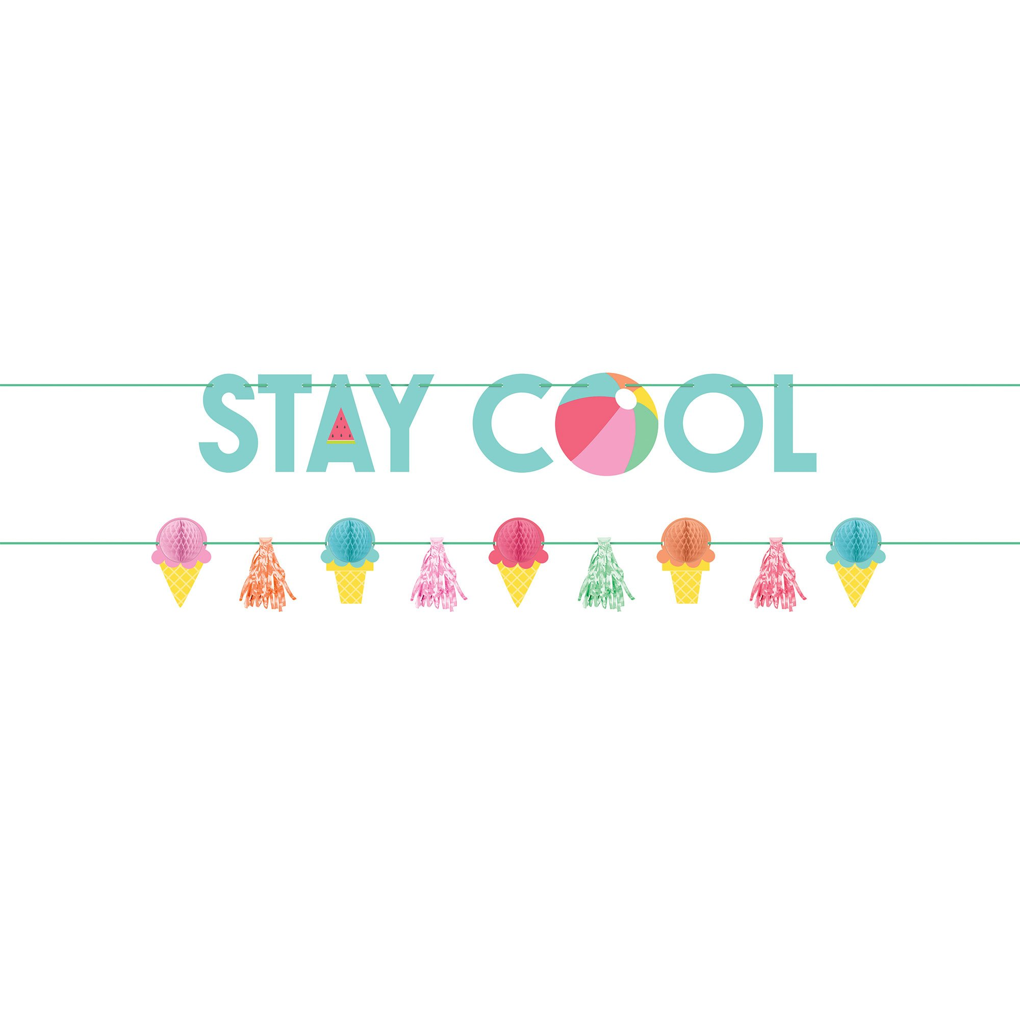 Just Chillin Stay Cool Banner Kit