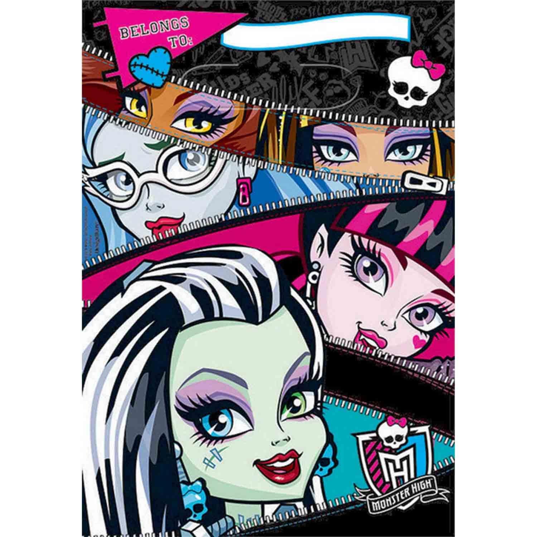 Monster High Folded Loot Bag