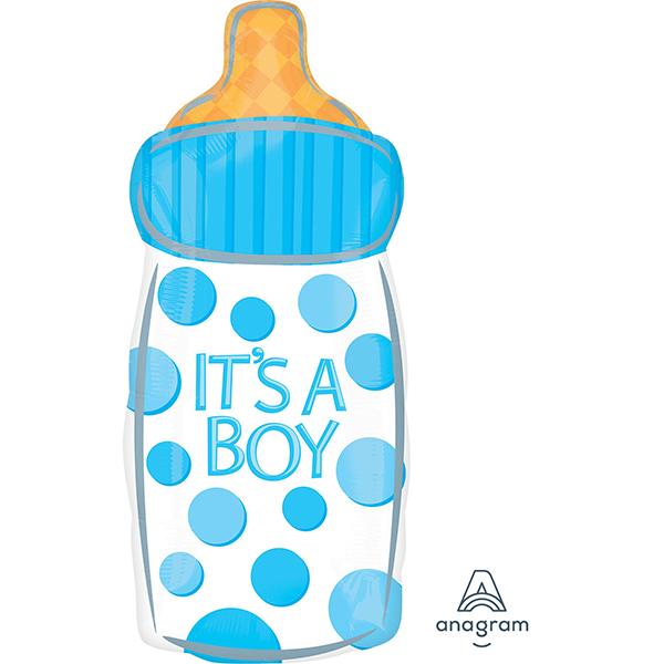 Junior Shape XL Baby Bottle IT'S A BOY S50