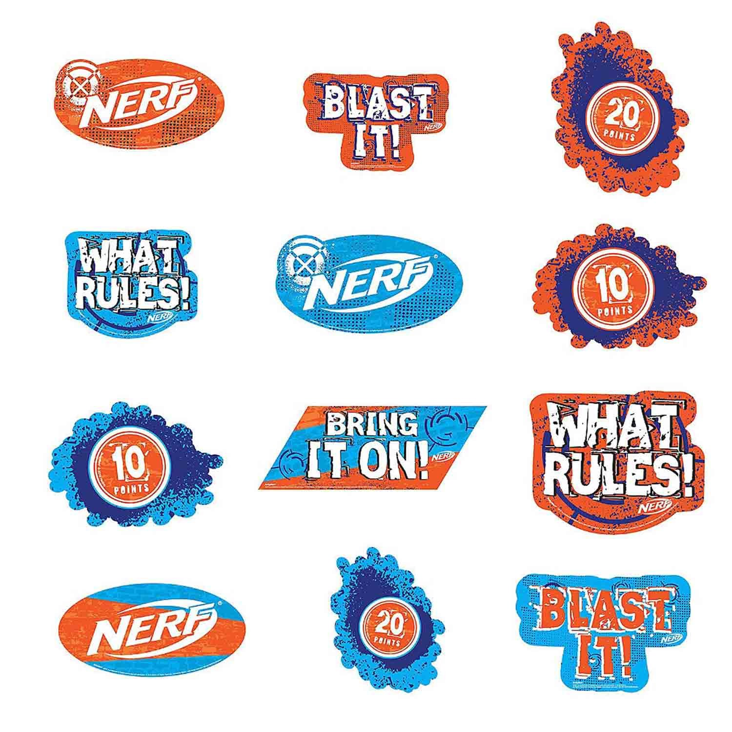 Nerf Cutouts Value Pack Assortment