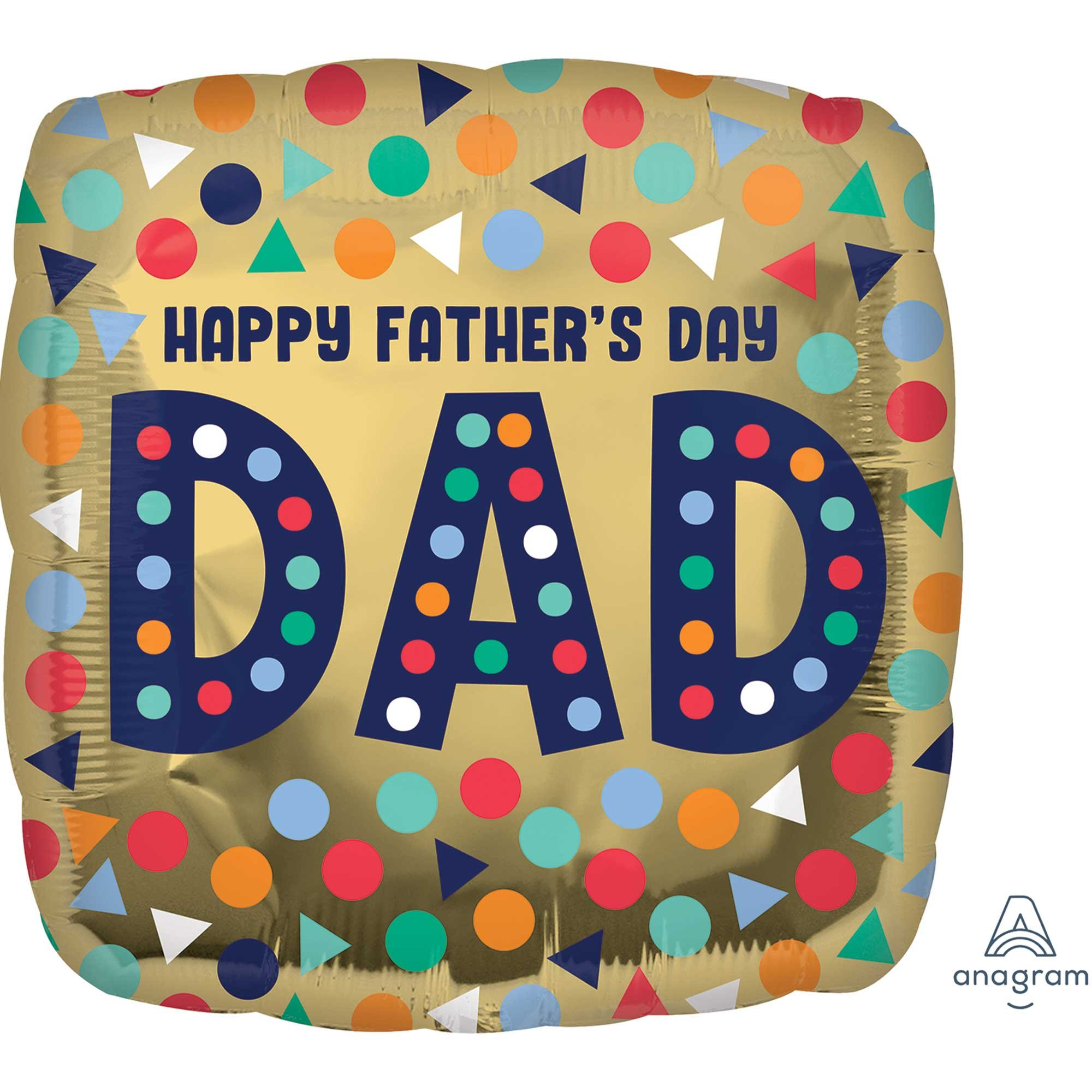 45cm Standard Happy Father's Day Dad S40