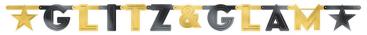 Glitz & Glam Large Foil Letter Banner
