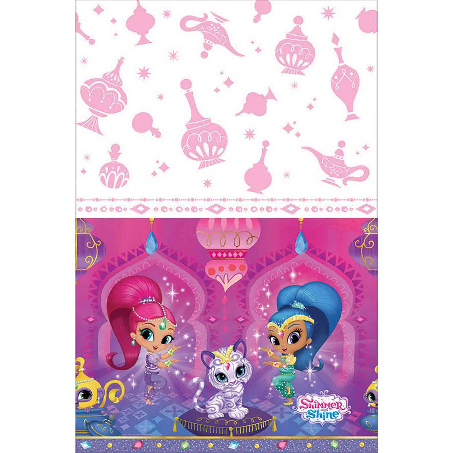 Shimmer and Shine Tablecover Plastic