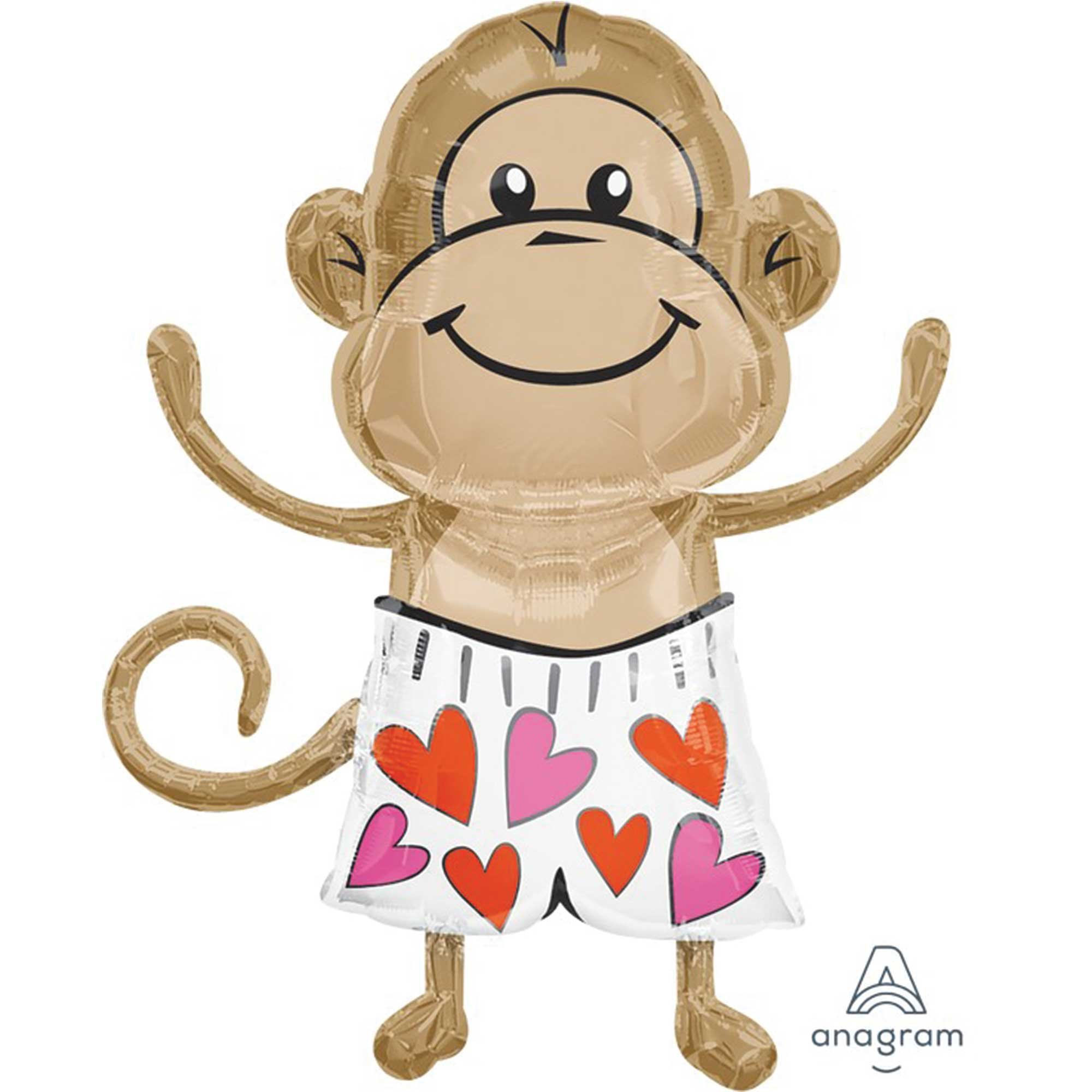 SuperShape XL Love Monkey P35