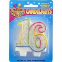 Candlelights Double Numeral 16
