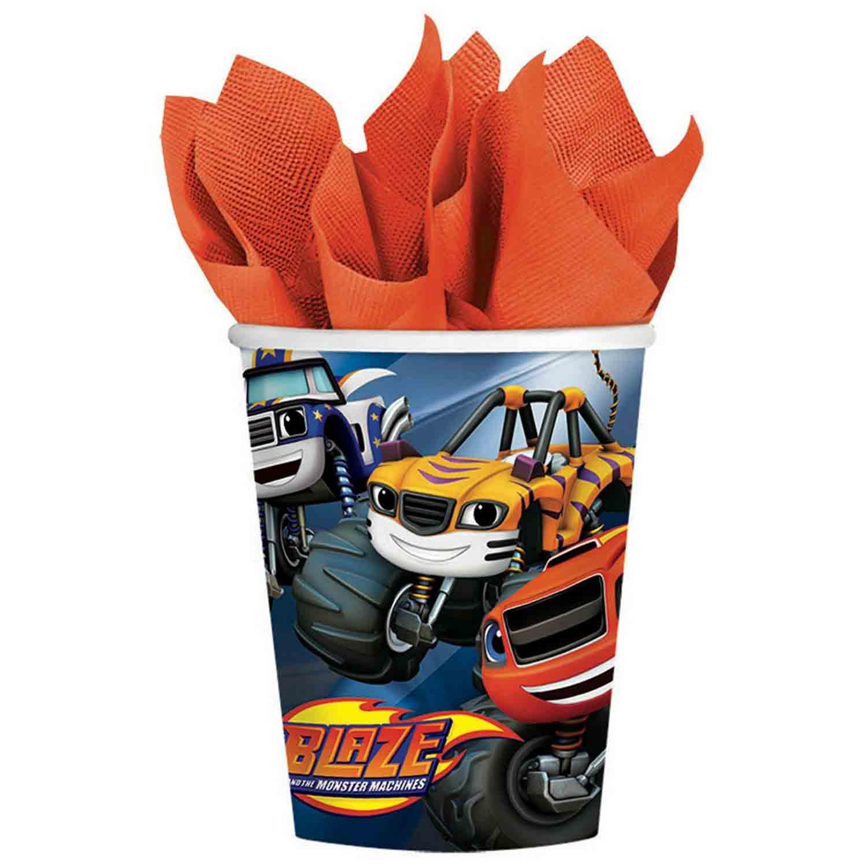 Blaze 266ml Cups