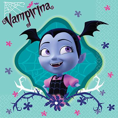 Disney Vampirina Beverage Napkins