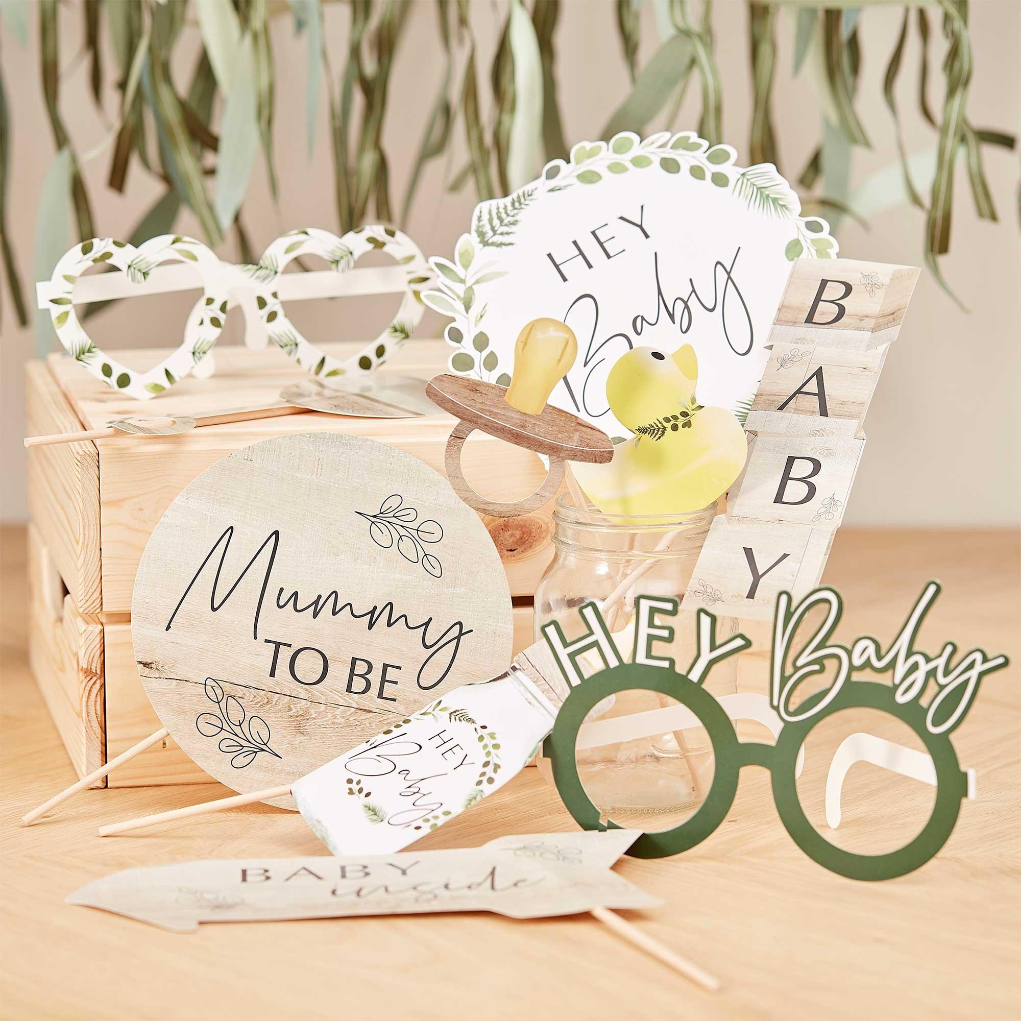 Botanical Baby Botanical Baby Shower Photo Booth Props