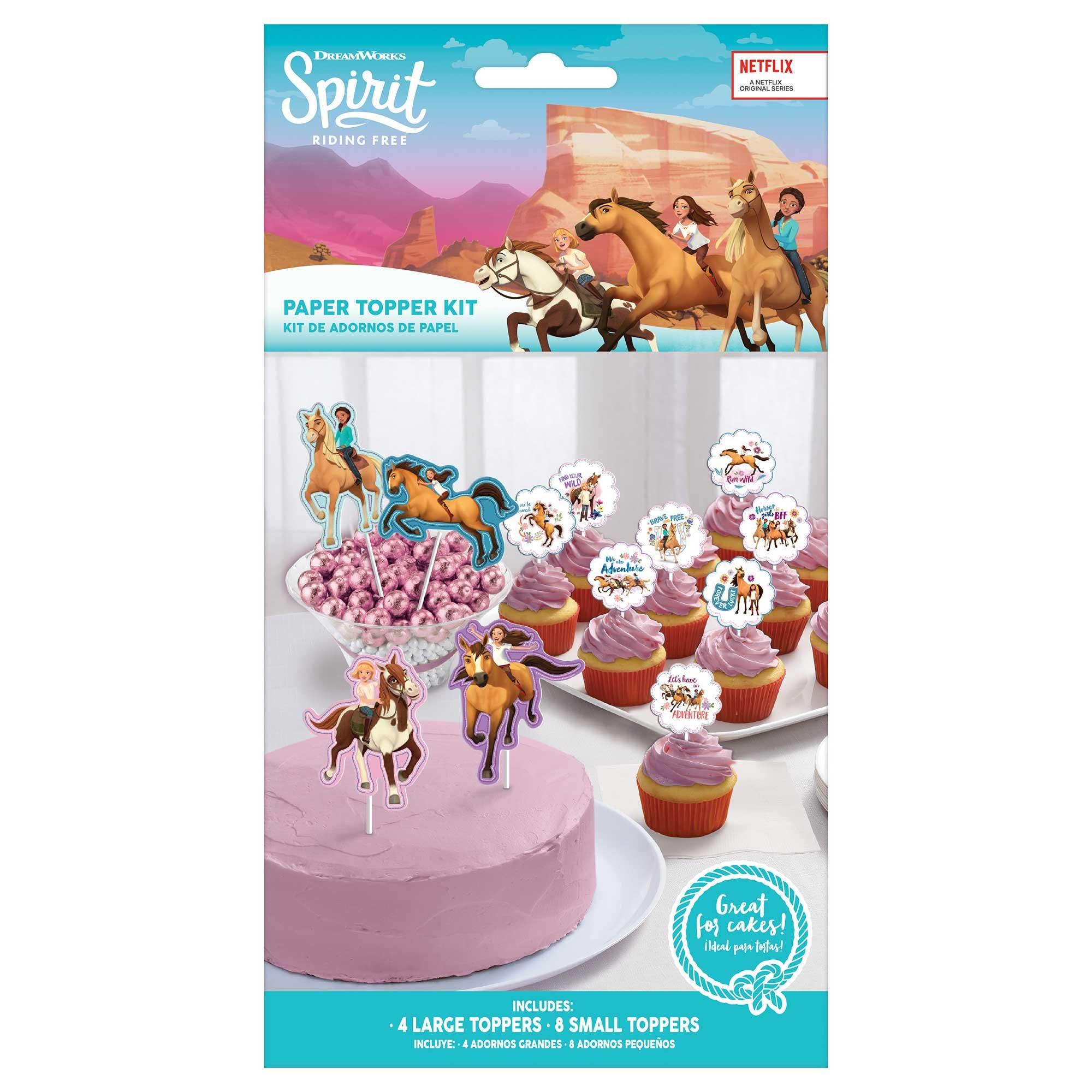 Spirit Riding Free Cake Topper Kit