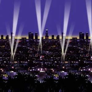 Backdrop Skyline Hollywood Scene Setter