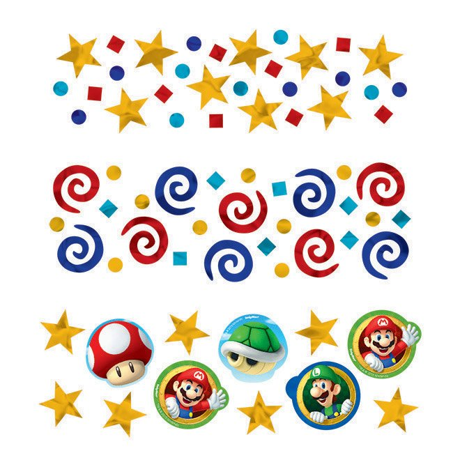 Super Mario Brothers Confetti Value Pack
