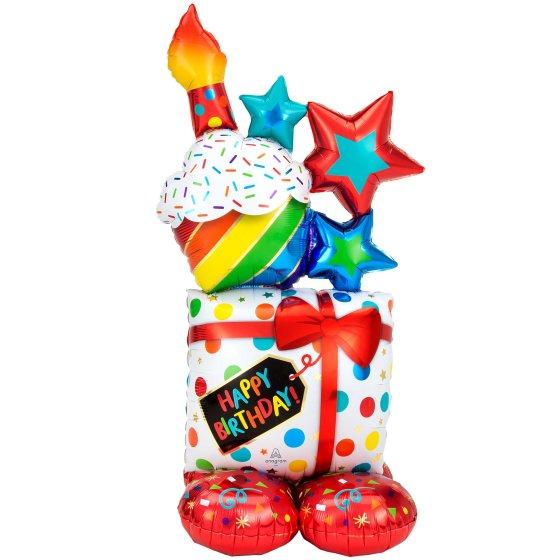CI: AirLoonz Happy Birthday Stacked Icons P70