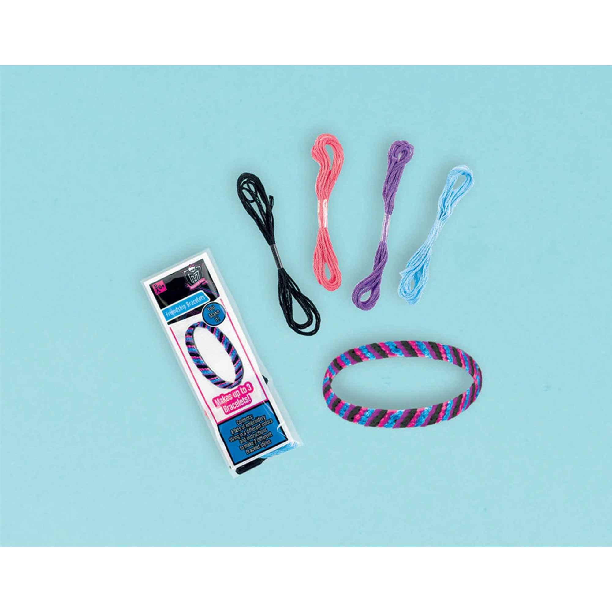 Monster High Friendship Bracelet Favor