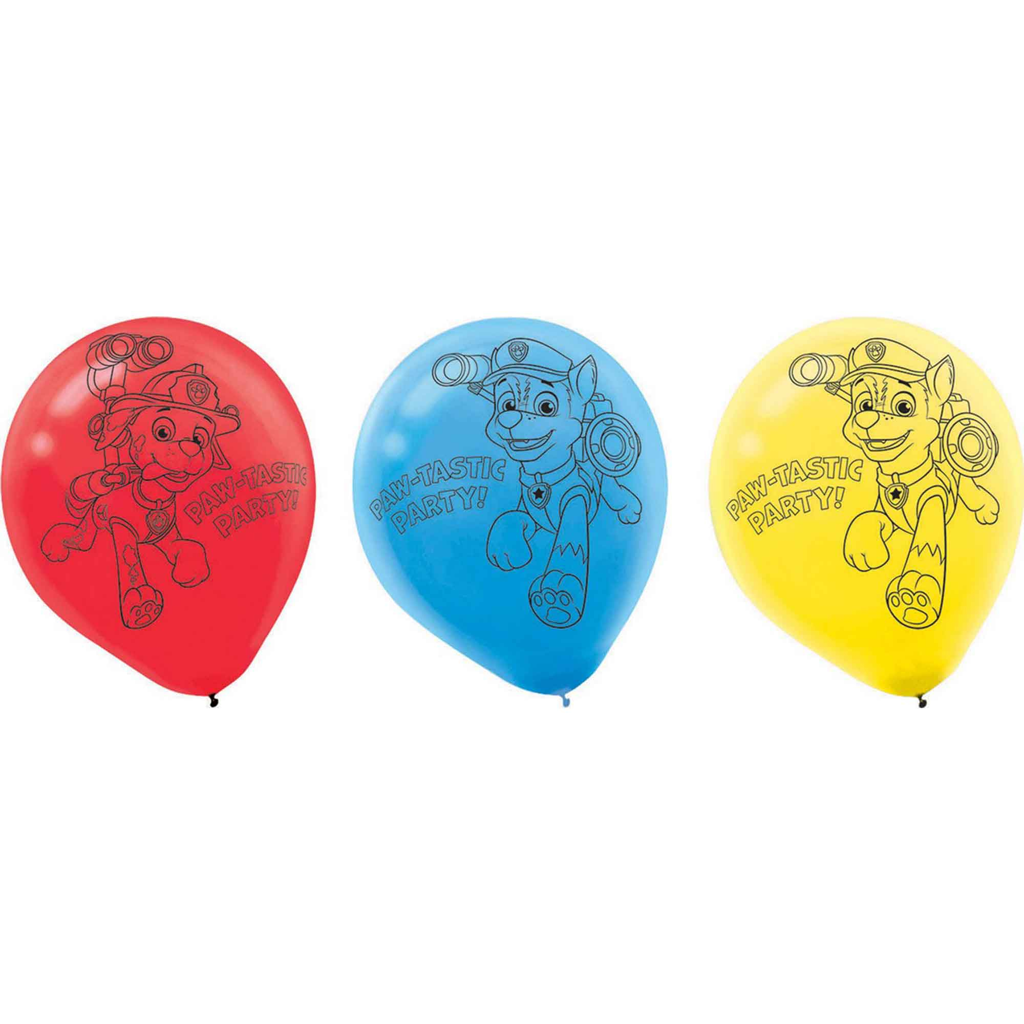 Paw Patrol 30cm Latex Balloons
