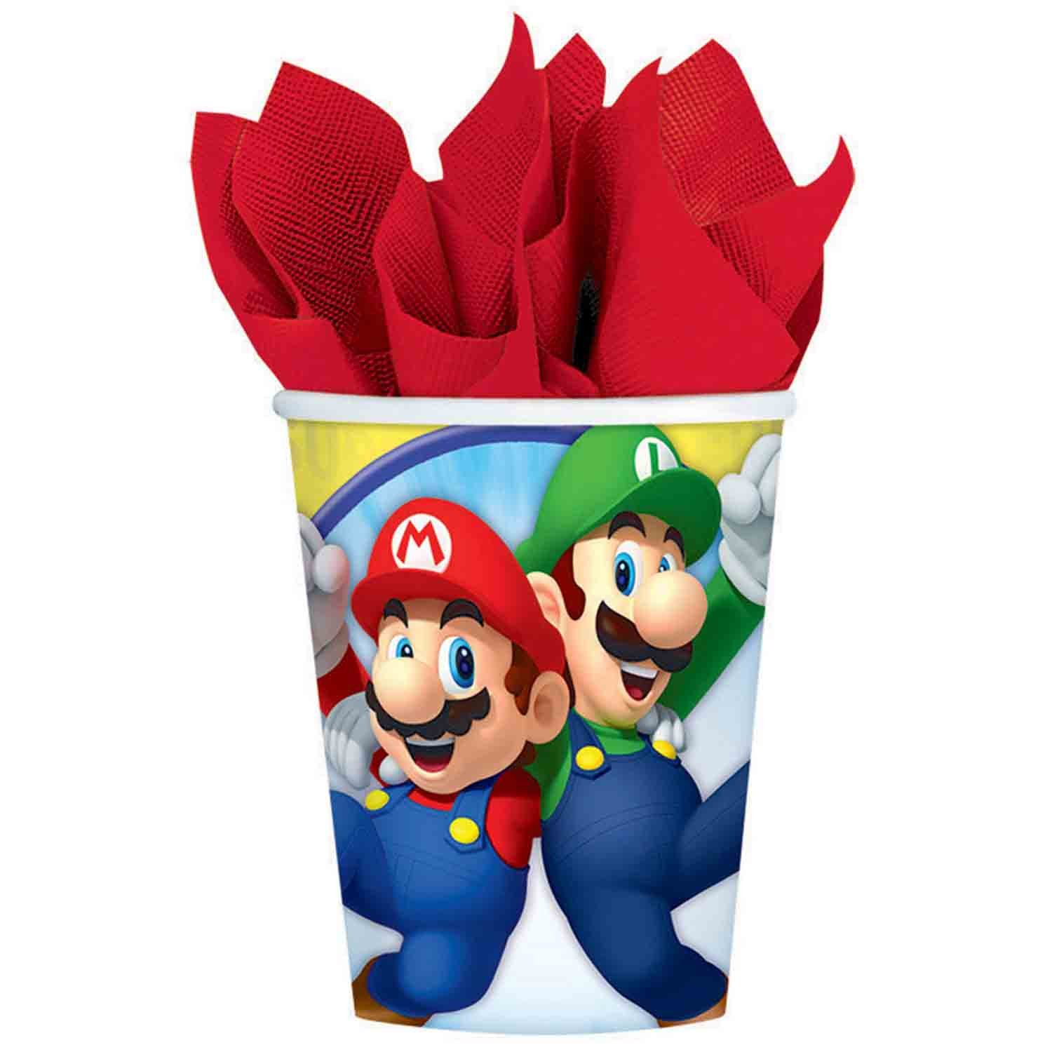 Super Mario Brothers 266ml Cups