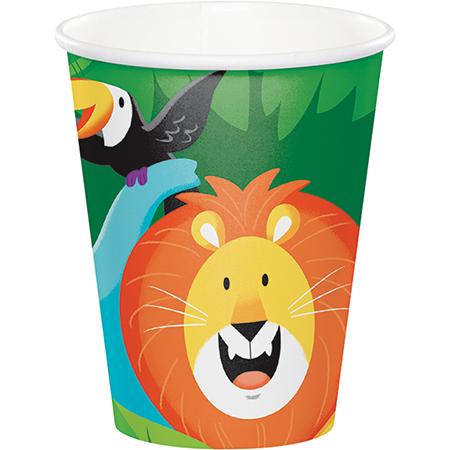 Jungle Safari Cups Paper 266ml