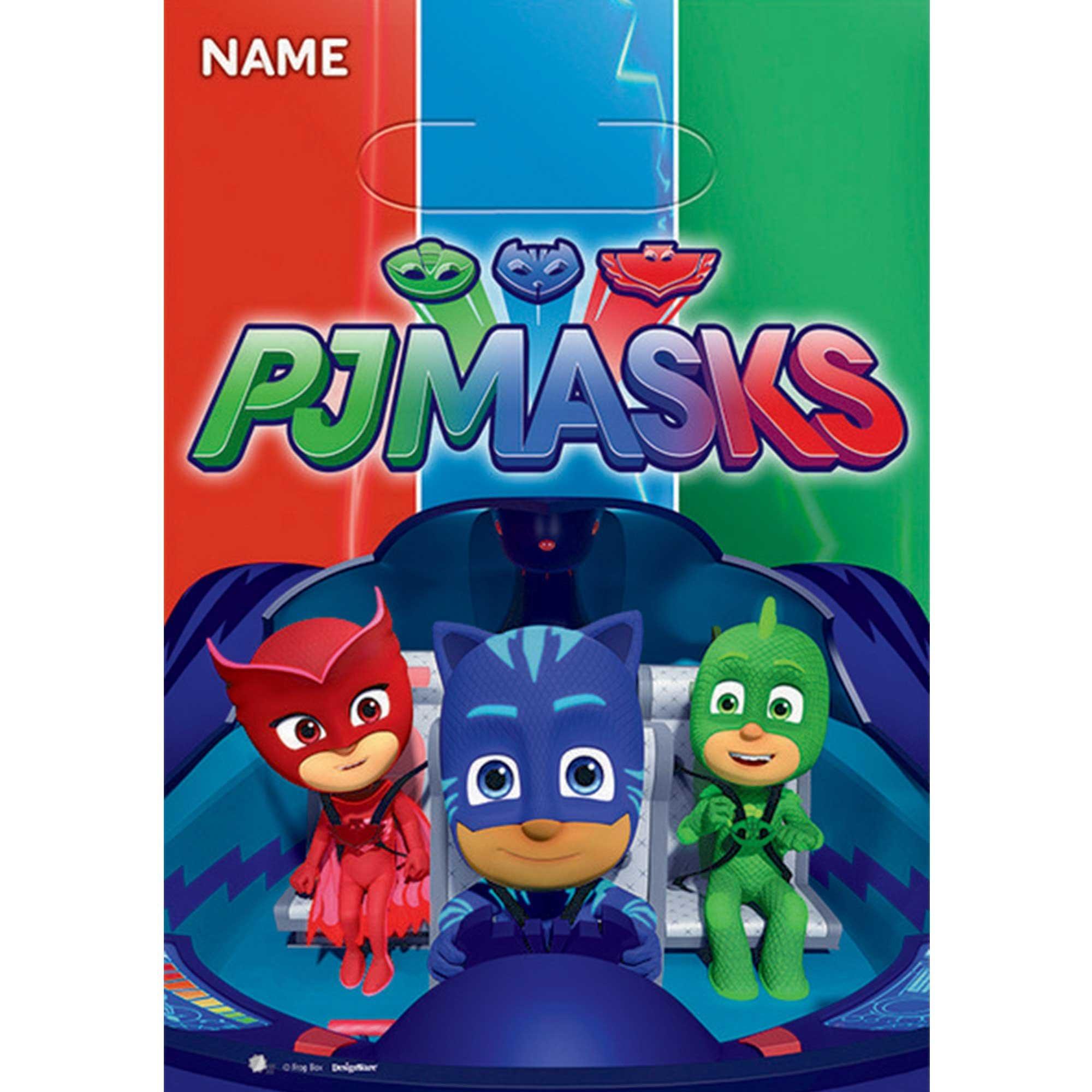 PJ Masks Loot Bags