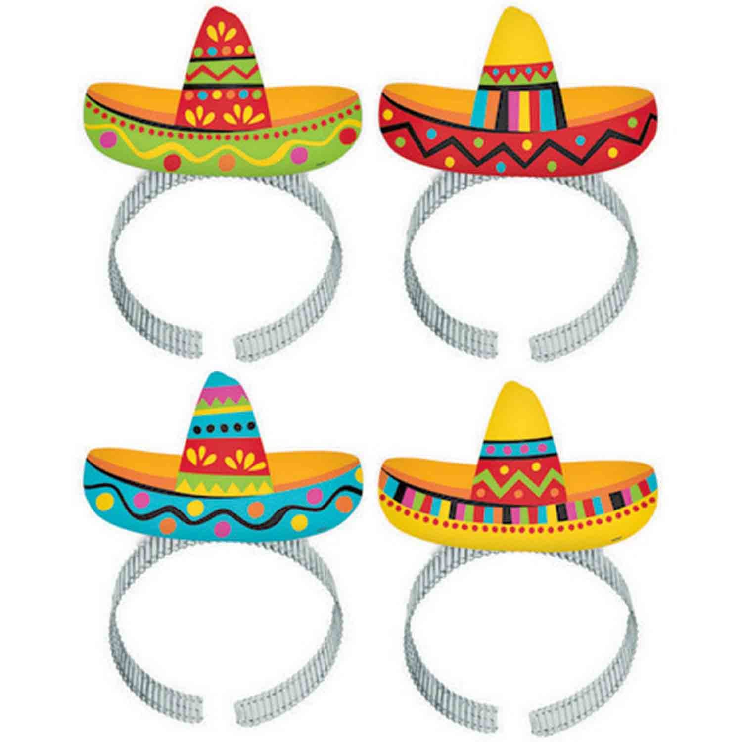 Fiesta Sombrero Headbands