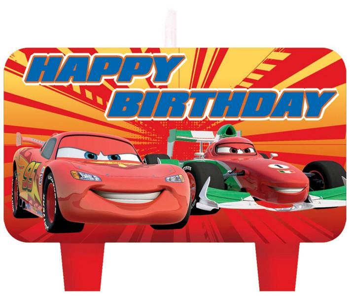 Disney Cars 2 Birthday Candle Set