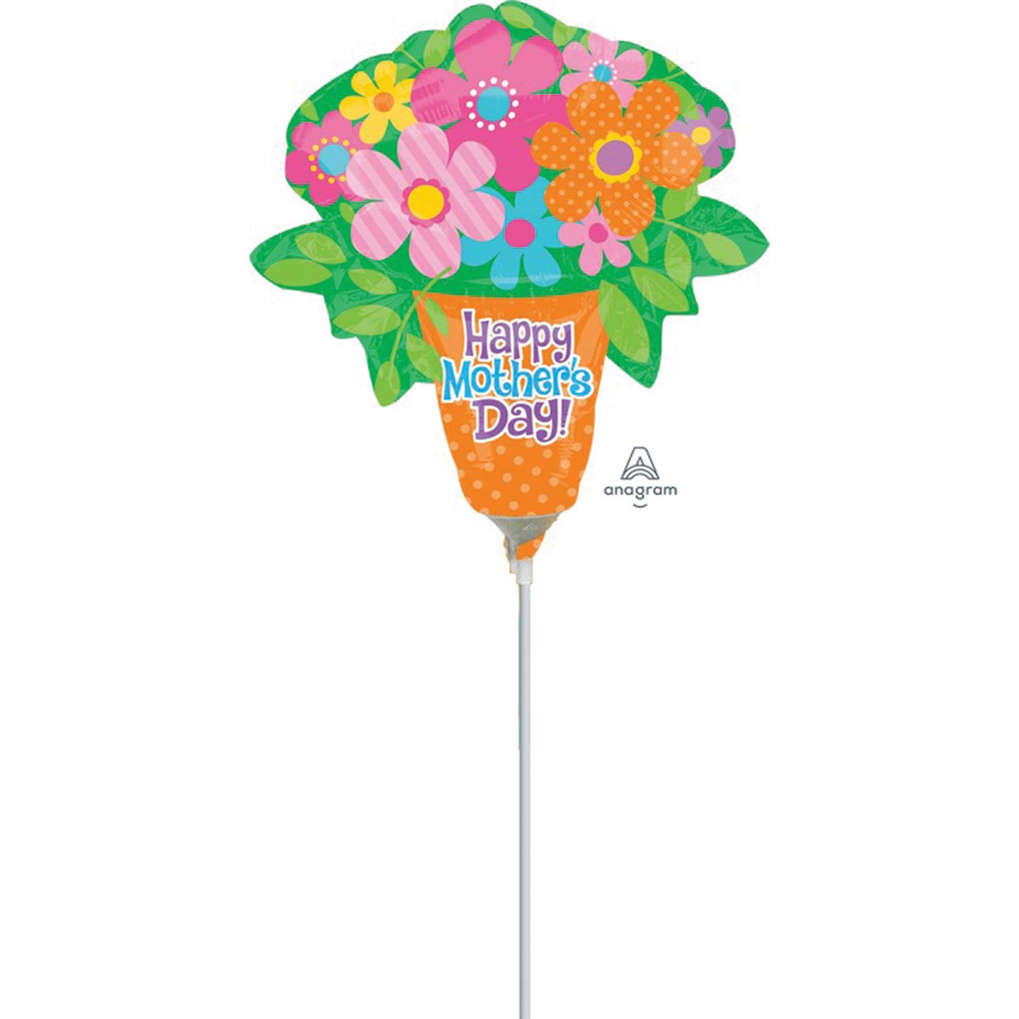 Mini Shape Happy Mother's Day Bright Flowers A30