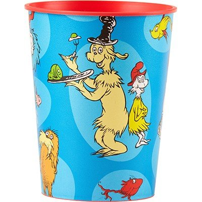 Dr.Seuss 16oz/473ml Favor Cup - Plastic