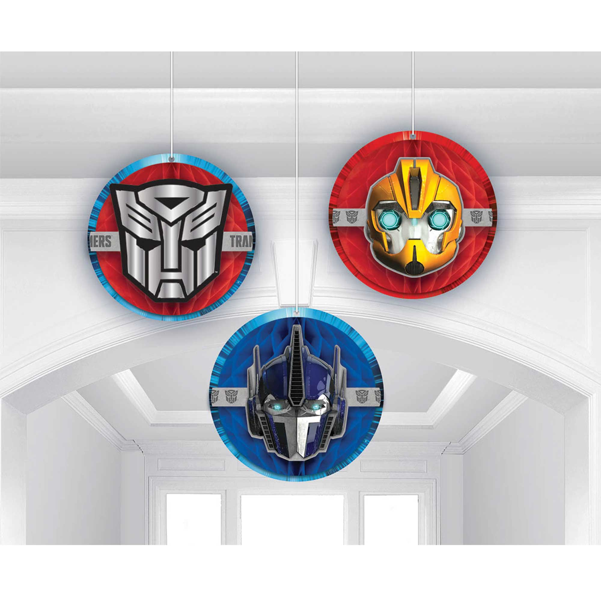 Transformers Core Honeycomb Hanging Decorations