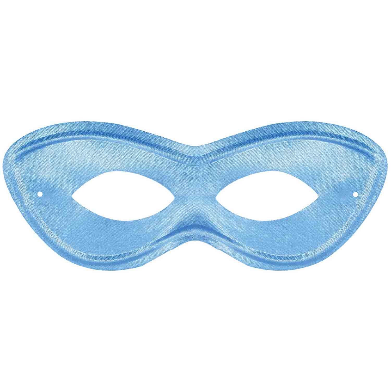 Super Hero Mask - Light Blue