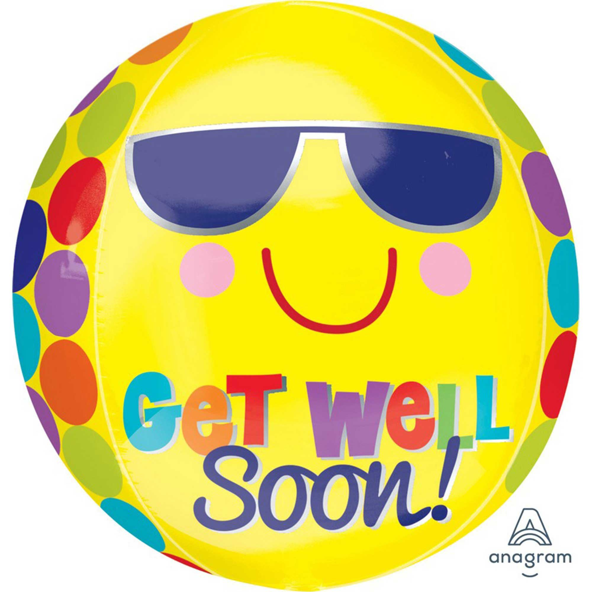 Orbz XL Bright Sunny Get Well G20