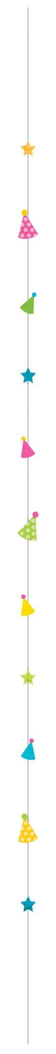 Balloon Fun Strings Party Hat