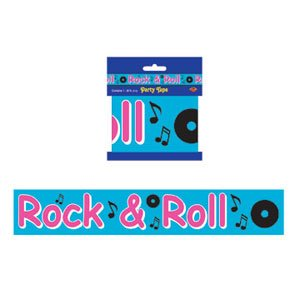 Rock and Roll Party Decorating Tape
