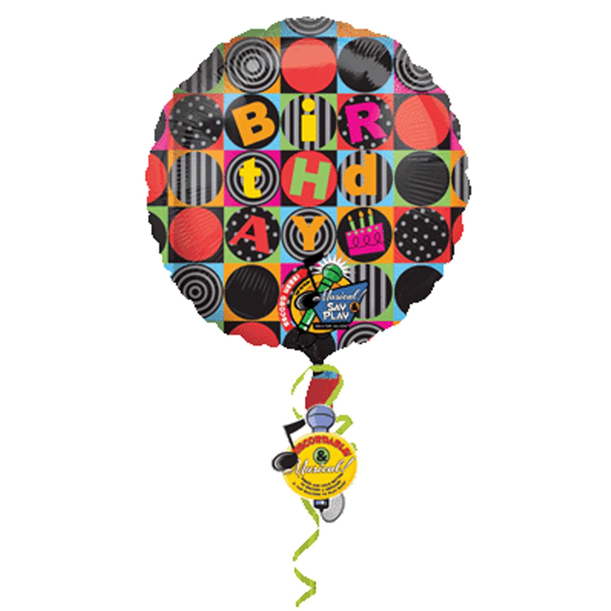 Sing-A-Tune  XL  Jumbo Birthday Squares P75