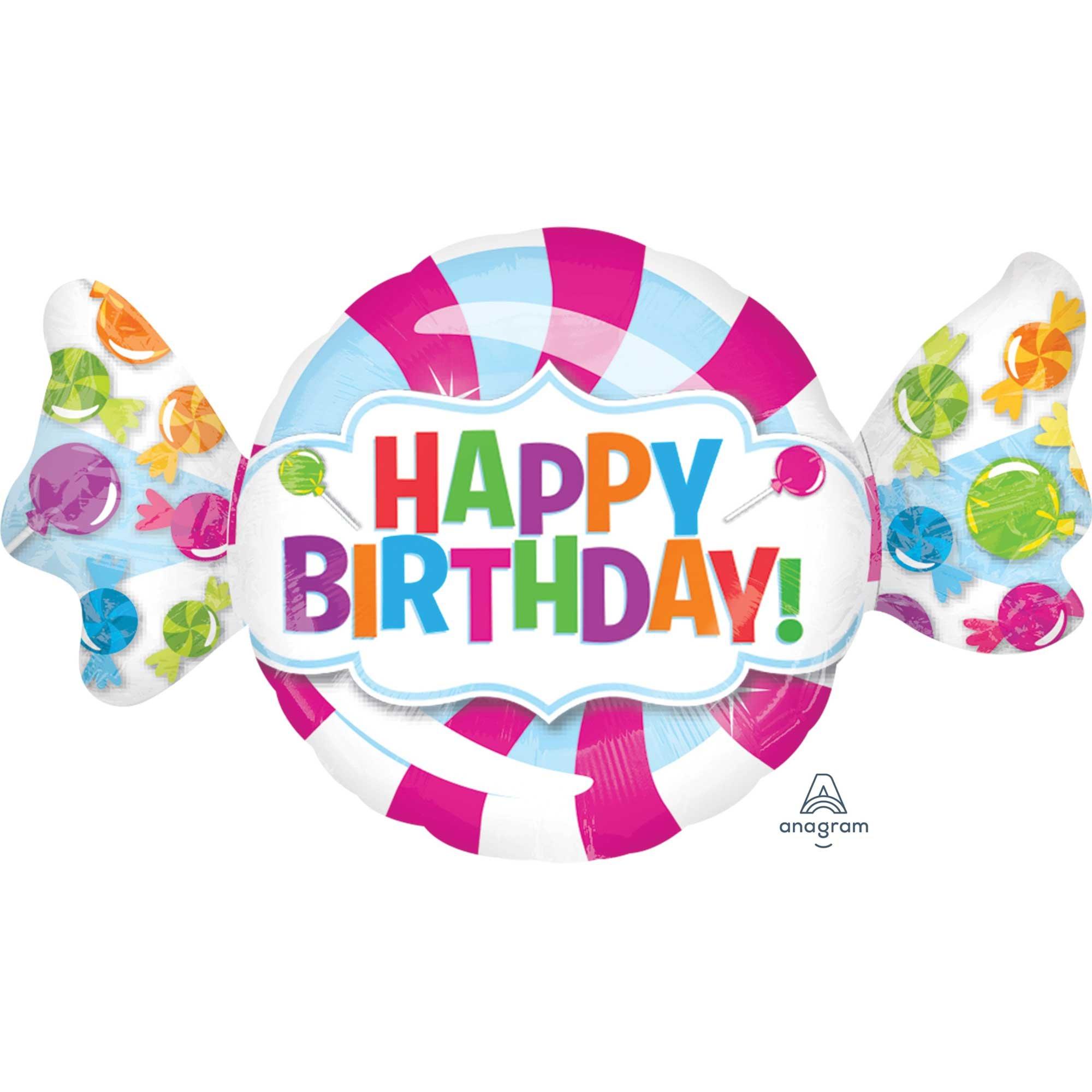 SuperShape Sweet Shop Happy Birthday P35