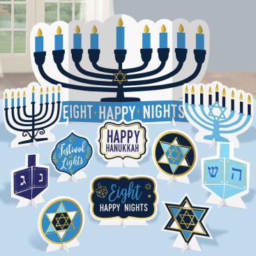 Hanukkah Table Decorating Kit