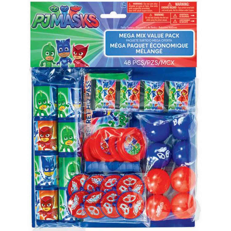 PJ Masks Mega Mix Value Pack Favors