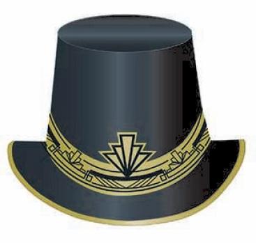 Glitz & Glam Prismatic Paper Top Hat