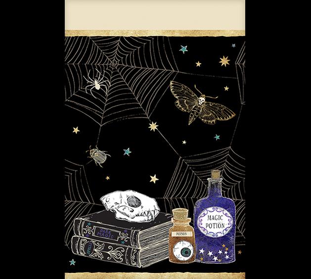 Spooks & Spells Plastic Tablecover