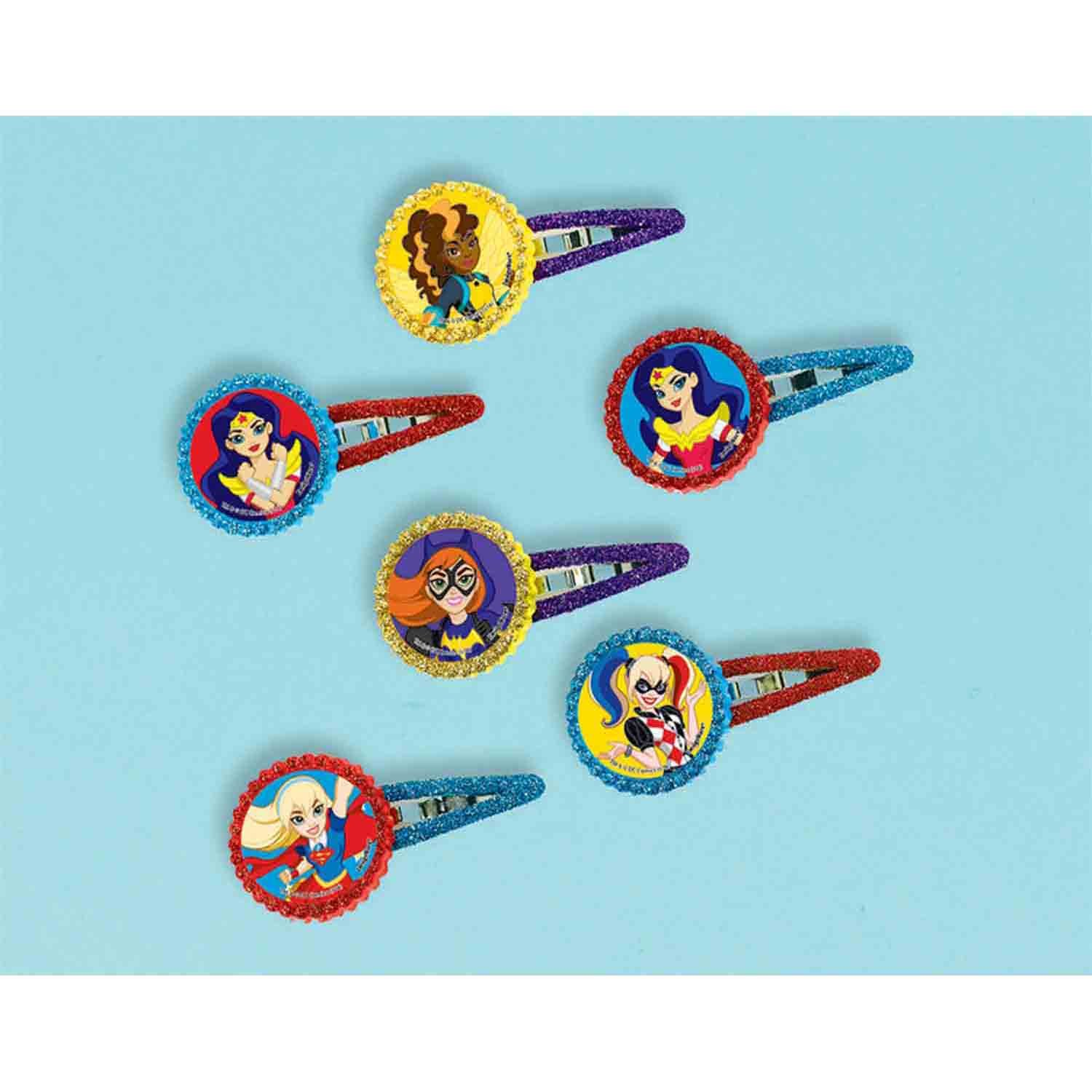 DC Superhero Girls Barrette Favor