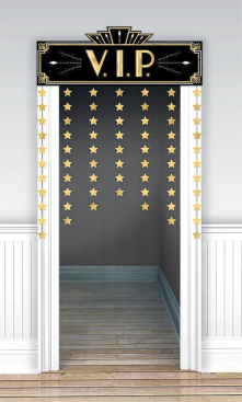 Glitz & Glam Decorative Door Curtain