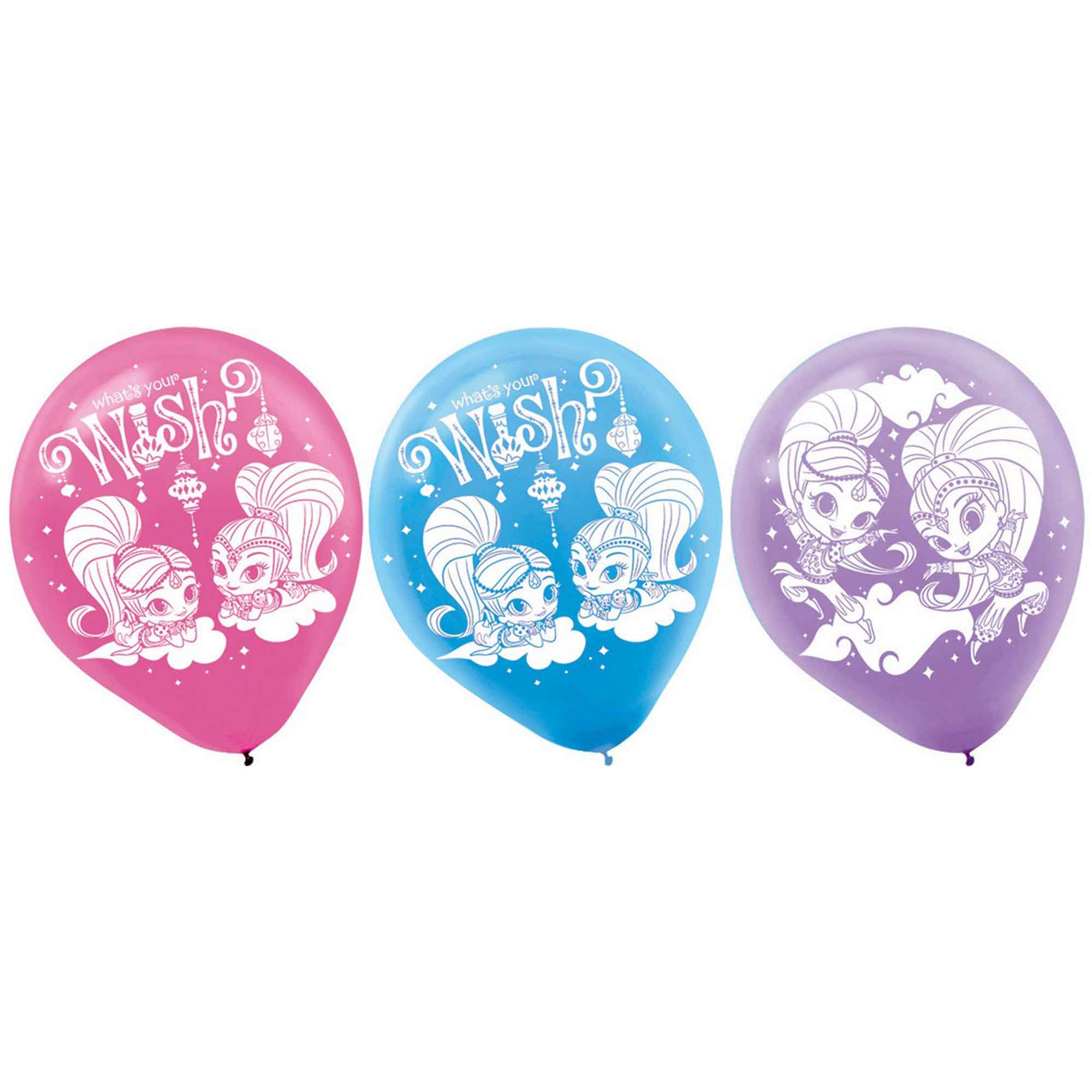 Shimmer and Shine 30cm Latex Balloons