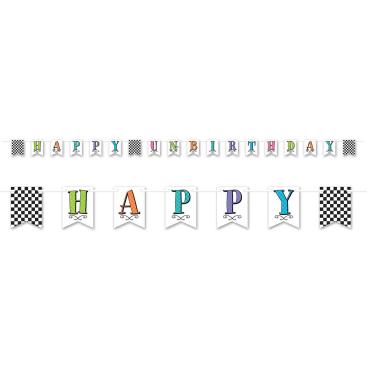 Tea Party Banner Happy Un-Birthday